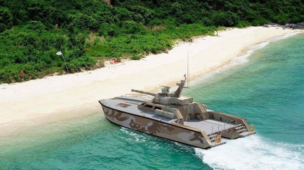 #IniIndonesiaku Kapal Tank Pindad Mampu Lintasi Rawa, Sungai dan Laut!