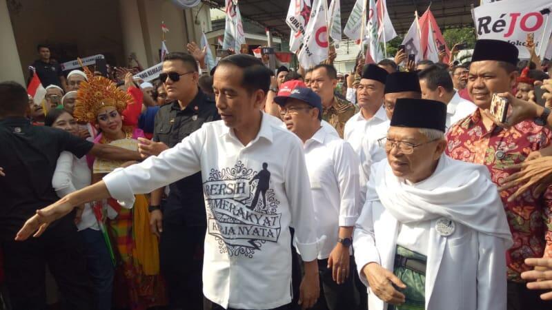Jangan Golput Hanya karena Jokowi memlih Ma'ruf Amin, bukan Mahfud MD.