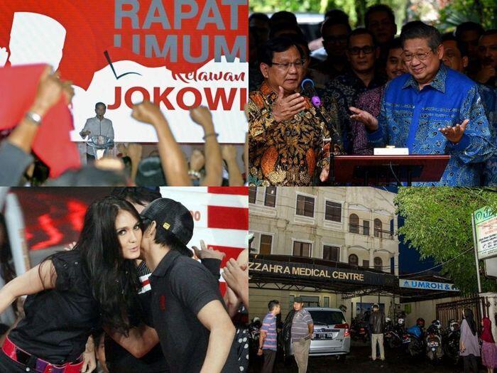Dari Luna Maya, Jokowi berantem, hingga Jenderal Kardus