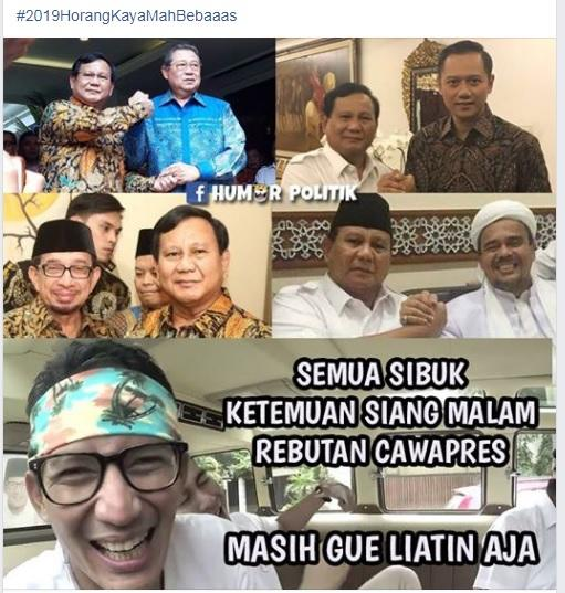 Belum Kampanyekan Prabowo-Sandi, SBY Tak Serius ?
