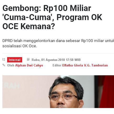 Pelaku Pasar Pilih Jokowi-Ma'ruf atau Prabowo-Sandi?