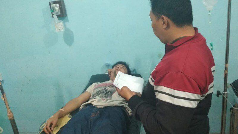 Kronologis Ojek Online Dianiaya di Geprek Bensu Bandar Lampung