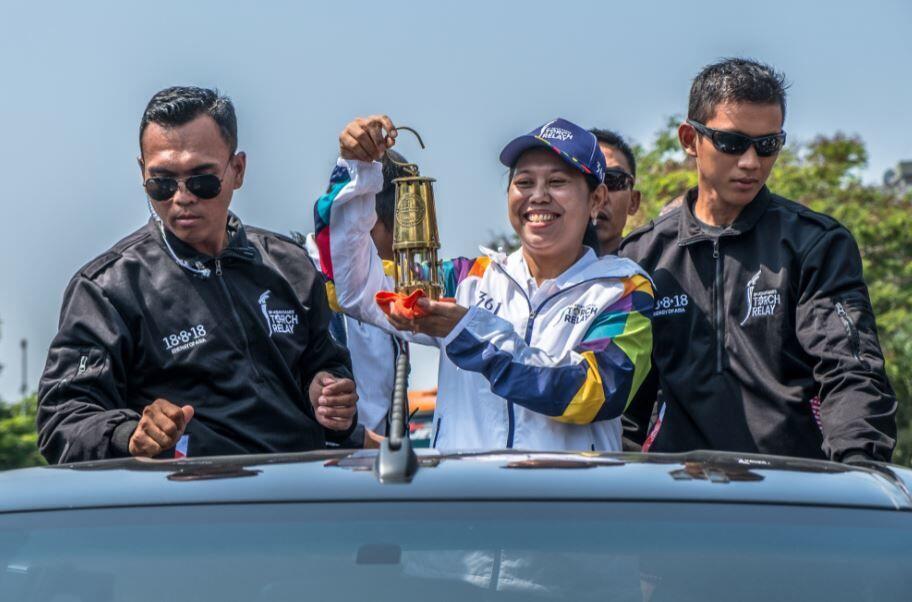 FOTO: Begini Serunya Perjalanan Obor Asian Games 2018!
