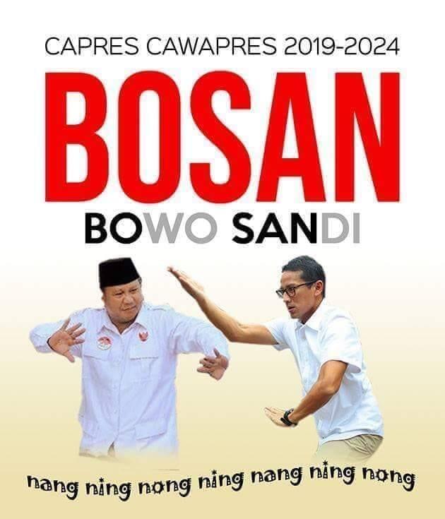 Di Internet, 'Prabowo-Sandi' Dijual Rp1 Miliar