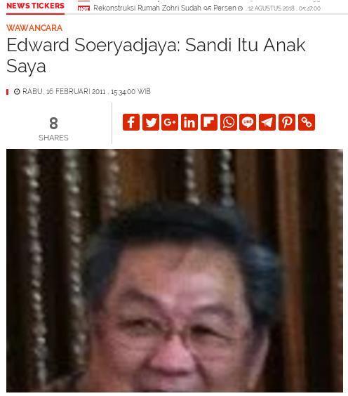 Jadi Cawapres, Sandiaga Masih Jadi Terlapor 3 Kasus di Polda Metro Jaya