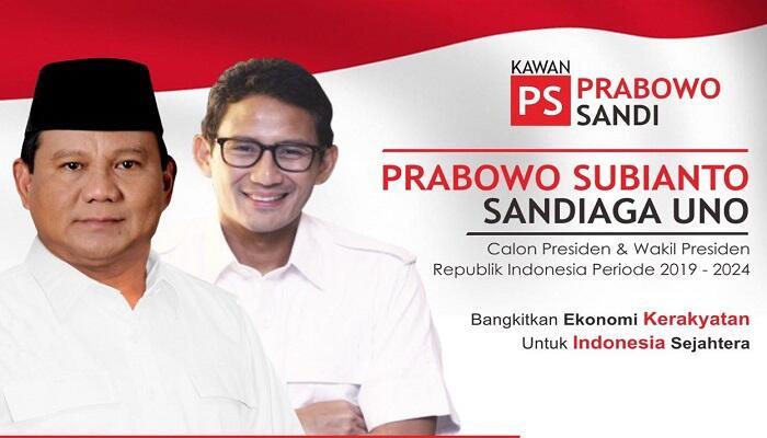 Kaum Muda Milenial Indonesia Digerakkan Dukung Prabowo-Sandi