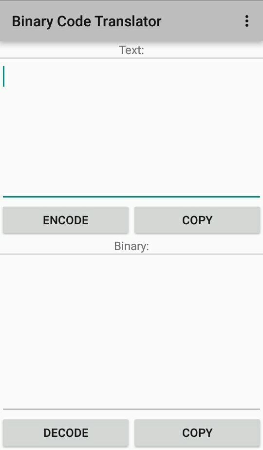 Aplikasi Untuk Membuat Dan Juga Mengkonversi Binary Code.