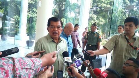 JK Tolak Jadi Ketua Timses Jokowi-Ma'ruf Amin