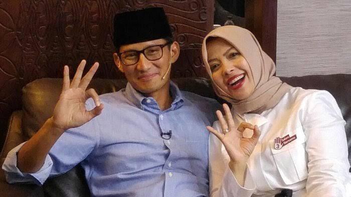 Para undangan berteriak 'ciee.. ciee..' saat Prabowo sebut nama Titiek Soeharto