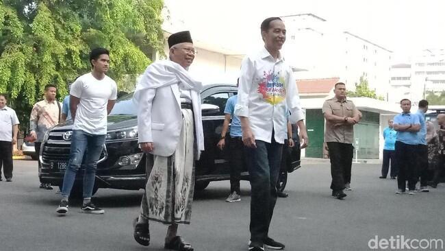 Tes Kesehatan, Jokowi: Saya dan Pak Ma'ruf Puasa dari Semalam