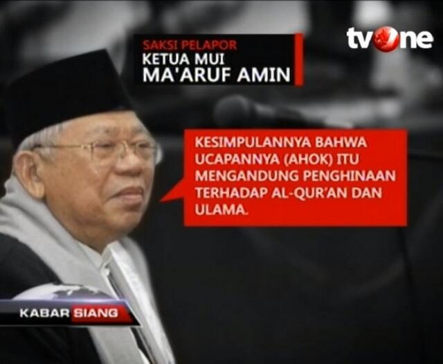 Jokowi Pilih Ma'ruf Amin, Begini Sikap Ahoker
