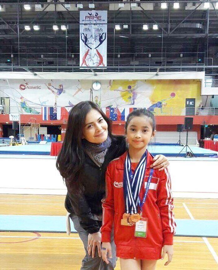 10 Potret Sidney Atlet Cilik Putri Cut Tari, Harumkan Nama Indonesia!