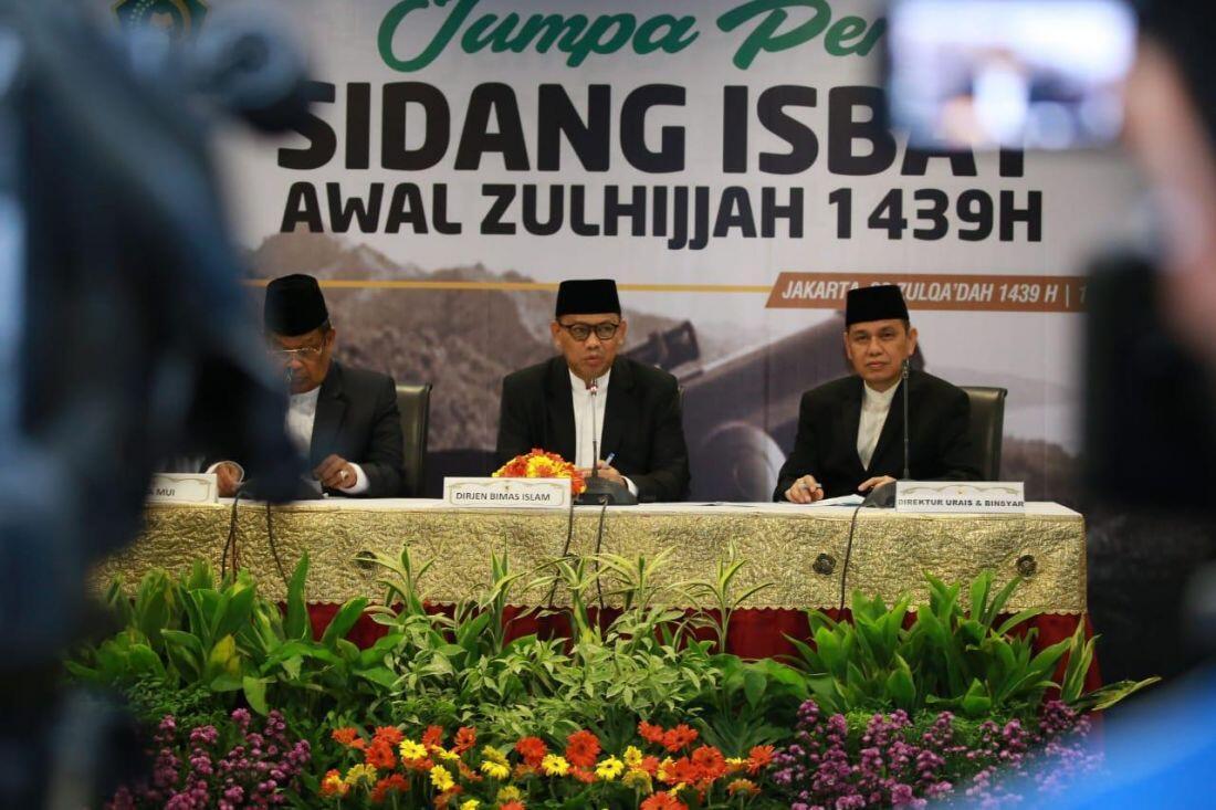 Pemerintah Tetapkan Idul Adha 1439 H pada 22 Agustus