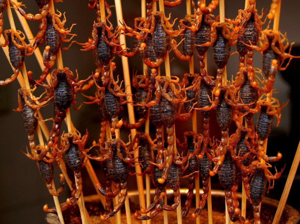 9 Makanan Antimainstream Ini Mudah Ditemukan di China, Bikin Merinding
