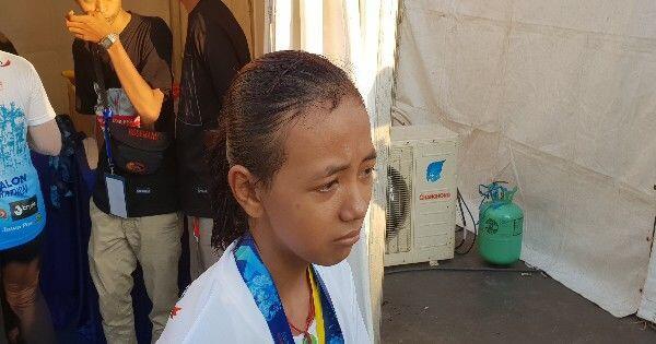 Siska Menangis di Garis Finish Surabaya Marathon 2018