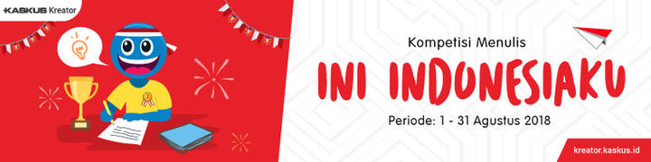 #IniIndonesiaku 5 Prestasi Merah Putih pada Juni - Juli 2018 di Kancah Dunia