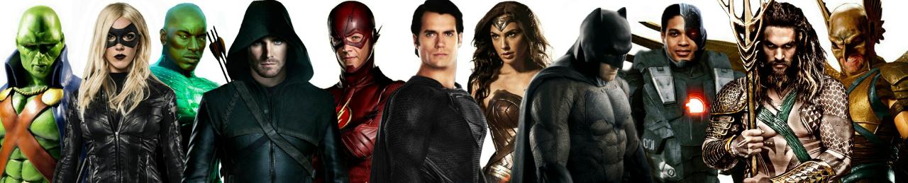 Apakah Ini Merupakan Konsep Baru Bagi DC Universe Untuk Menyaingi Marvel Universe ?