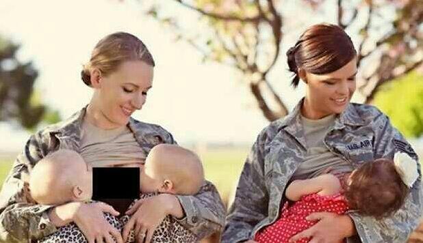 Tentara Perempuan Ini Tak Lupakan Tugas sebagai Ibu, Berikan ASI Pakai Seragam