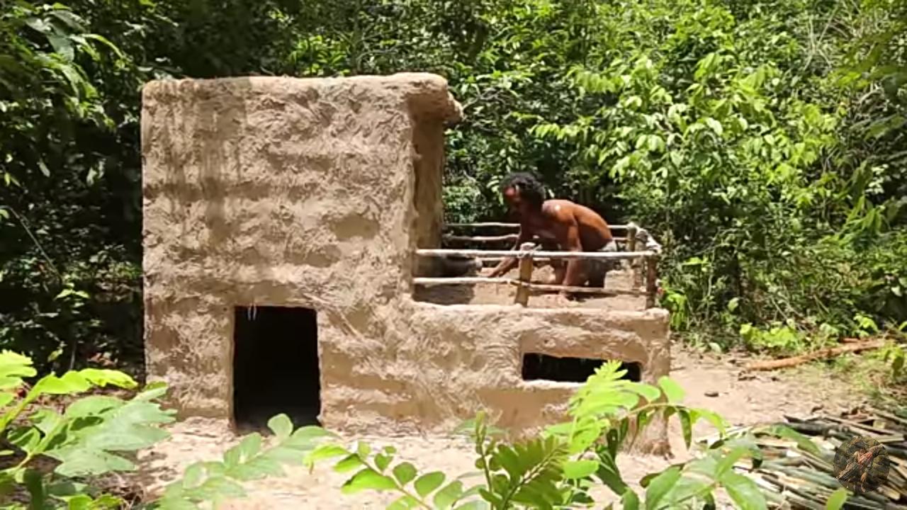 Wow Keren Nih , Membuat Bak Mandi Keren Ditengah Hutan