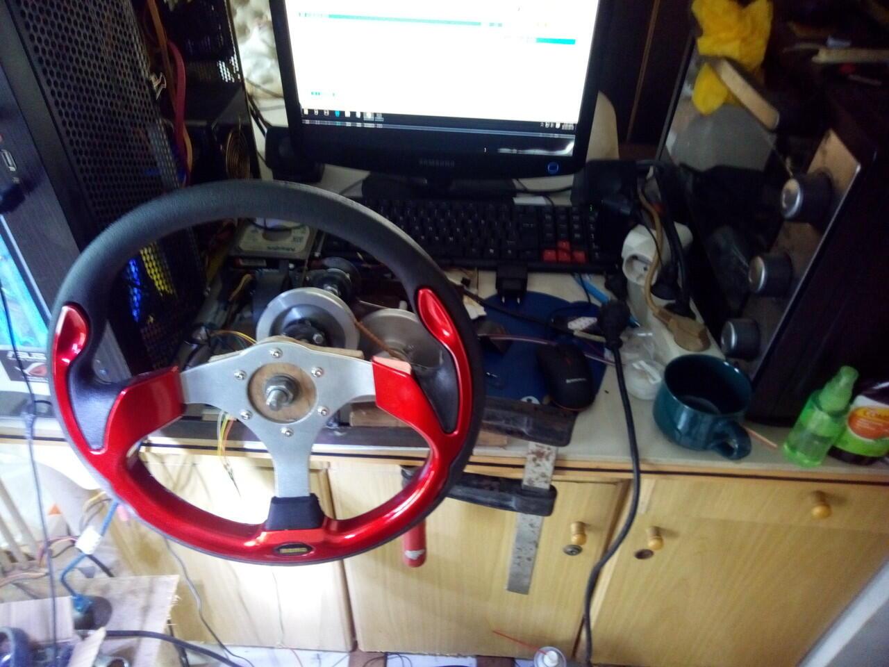 ...  DIY  Steering Wheel + Pedal gas   rem + Shifter 238dd105f4