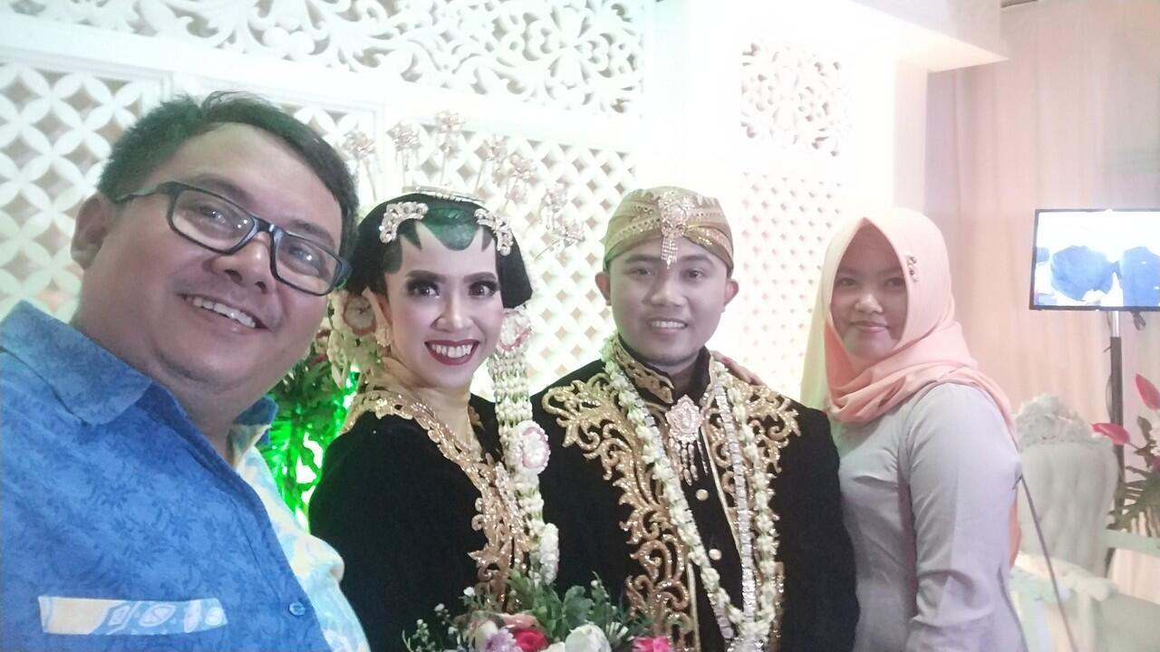 Happy Wedding sista nucleofilik