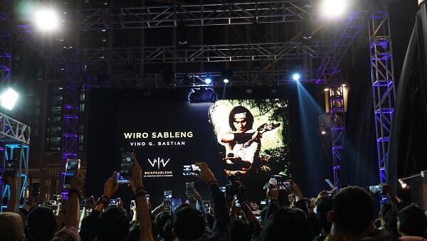 Ane Jadi Saksi Meriahnya Gala Premiere Film Wiro Sableng Gan!