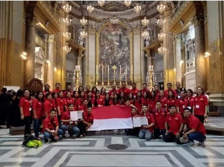 #IniIndonesiaku Paduan Suara Indonesia Menang Kompetisi Di Italia!