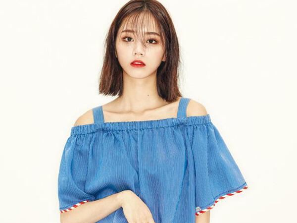 Smokey Eyes dan Rambut Basah, Gaya Hyeri 'Girl's Day' untuk ELLE