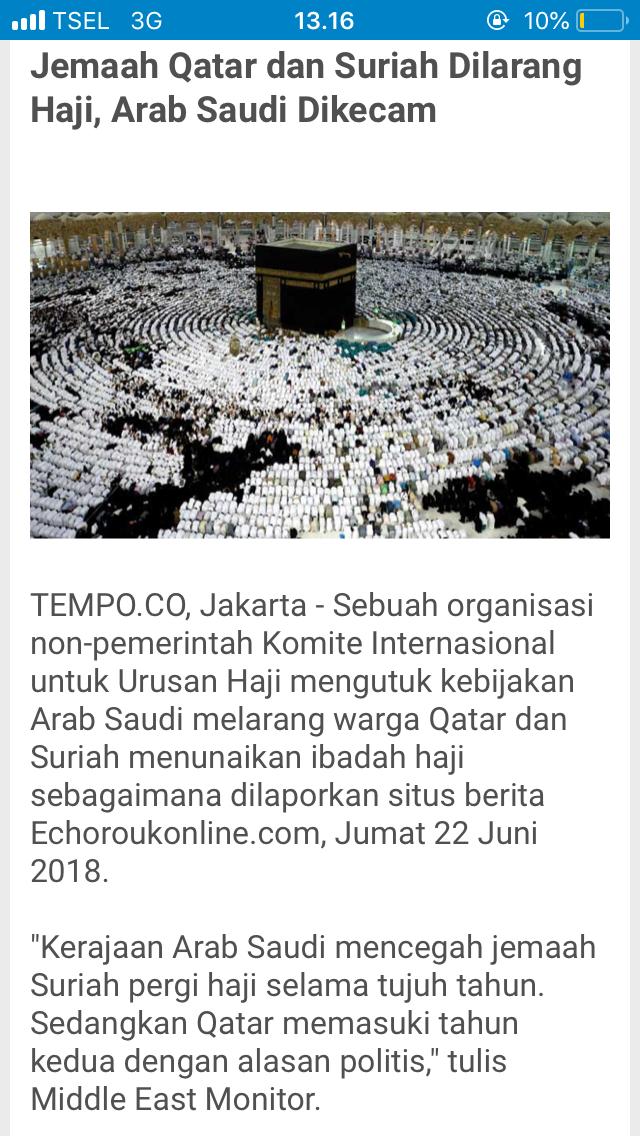 Protes PBNU & GP Ansor, Bisa Saja Arab Saudi Stop Haji Indonesia