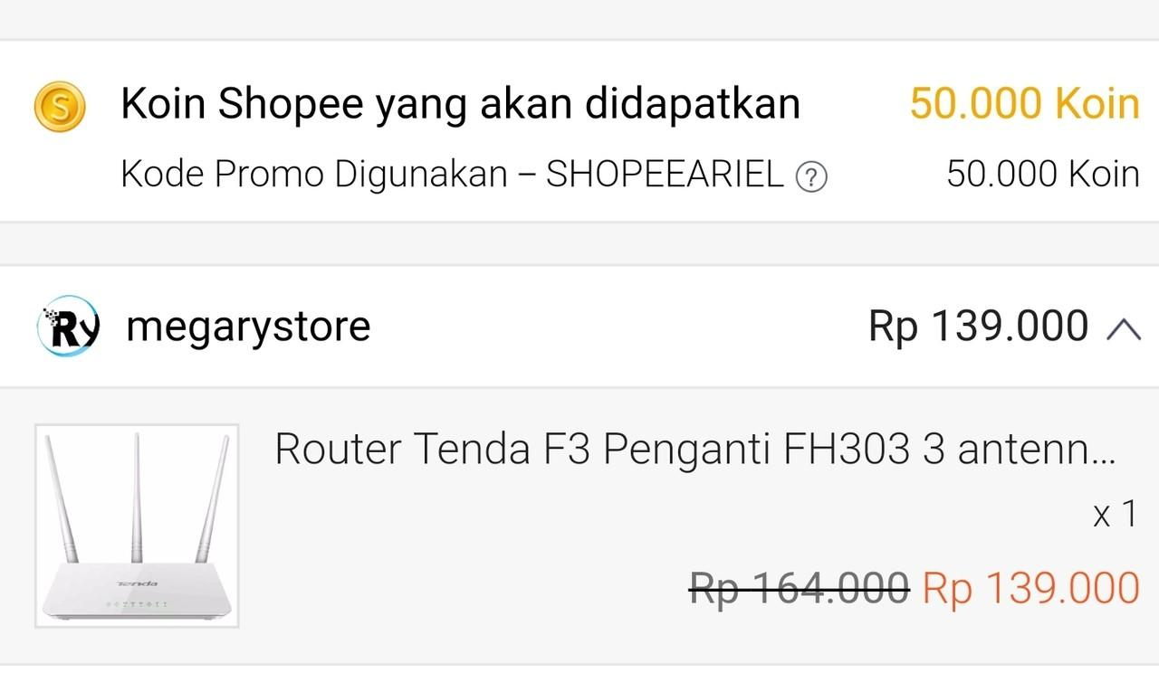 Flash Sale Open Toko Online Indonesia Part 6 Page 385 Tenda F3 Router Penganti Fh303 Lounge