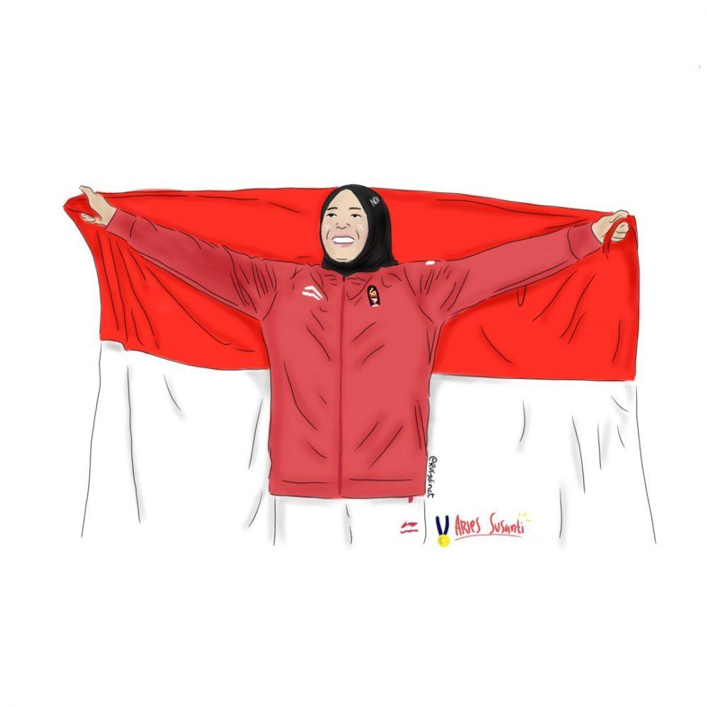 Ajib Abis, Ilustrasi Perolehan Medali Di Asian Games 2018