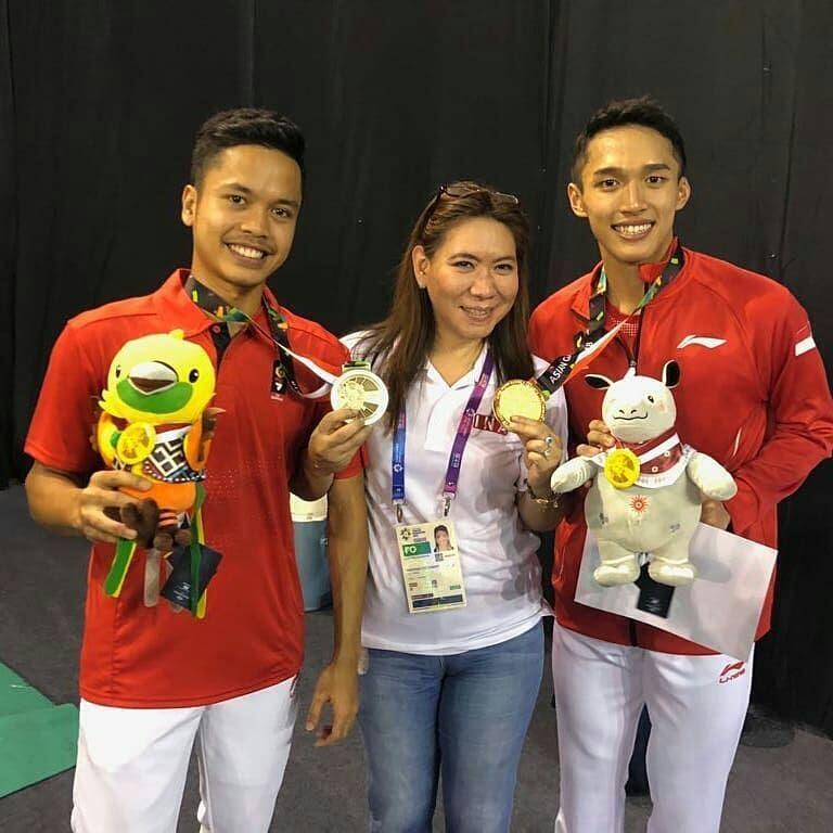 Download Lagu Asian Games 2018 Janger Persahabatan: 6 Fakta Persahabatan Jojo Dan Ginting Ini Sungguh