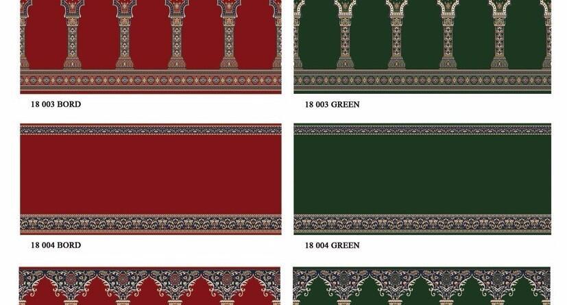 Ciri-ciri bahan karpet masjid yang bagus