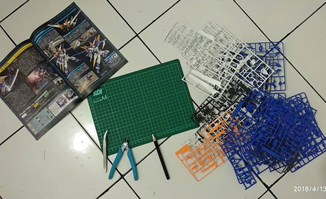 Rakit Gundam Astray Blue Frame D (MG)