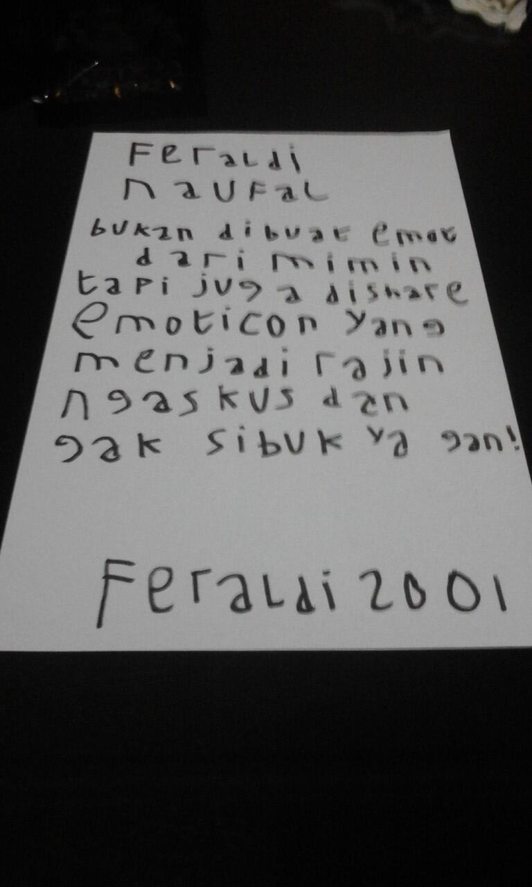 Inilah Sosok Feraldi2001 Yang #AslinyaLo
