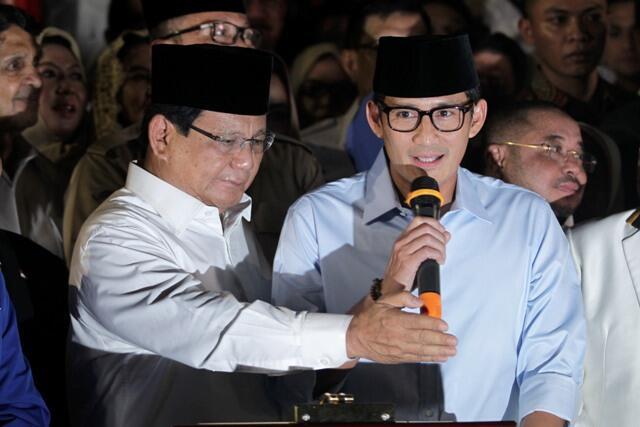 Prabowo-Sandi Kritik Pemerintah