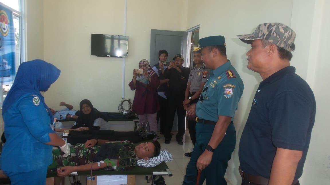 inilah keseruan Lanal Ranai Merayakan Hari Jadi TNI AL Ke 73
