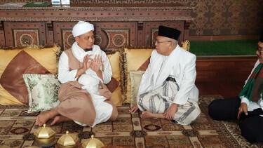 Bertemu KH Ma'ruf Amin, Ustaz Arifin Ilham Mengaku Bicara Poligami