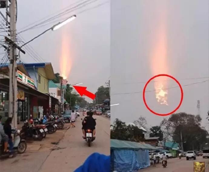 Awalnya Dikira Kabel Terbakar, Misterius! Saat Didekati Orang-orang Malah Ketakutan