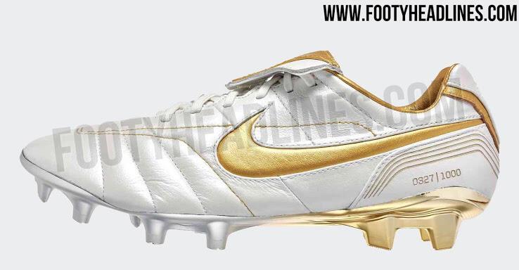 Nike Tiempo Ronaldinho Diproduksi Lagi, Cuma Ada 1000 Pasang Gan