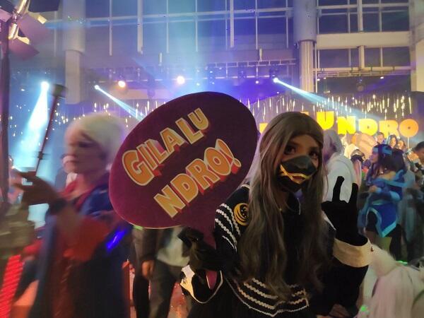 Gala Premiere Film Gila Lu Ndro, Kompor Gas!