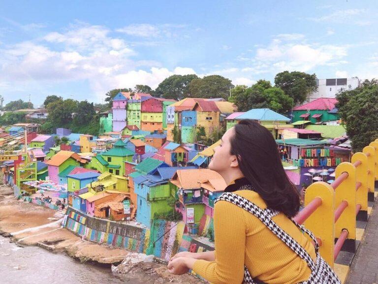 Review Dan Informasi Wisata Kampung Warna Bobotsari Purbalingga Jawa Tengah