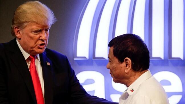 Duterte Salahkan Trump Atas Inflasi di Filipina
