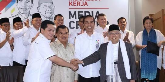 Ini Susunan Lengkap Tim Kampanye Nasional Jokowi-Ma'ruf