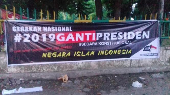 Gerakan #2019GantiPresiden Disebut Berhubungan dengan Khilafah