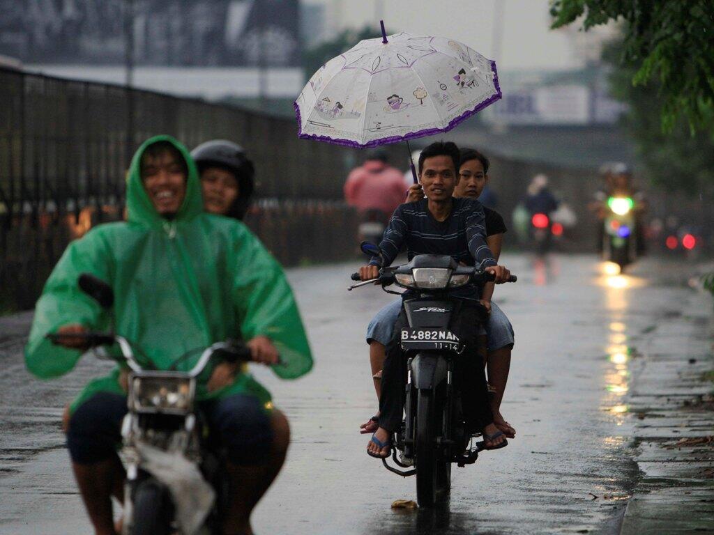 Jakarta Berpotensi Diguyur Hujan Hari Ini