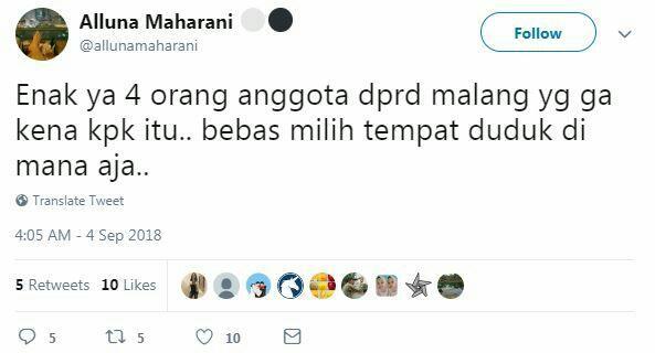 7 Komentar kocak korupsi DPRD Malang ini bikin senyum kecut