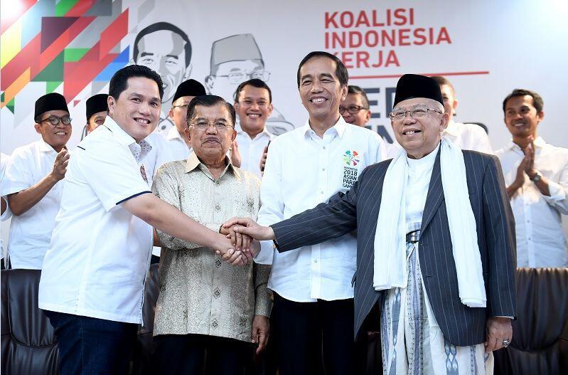 Jadi Ketua Pemenangan Jokowi, Erick Thohir Siap Bisnisnya Menurun
