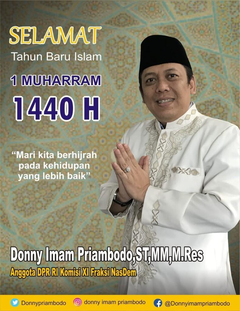 Donny Imam Priambodo Ajak Masyarakat doa bersama #tahunbaruislam #TahunBaruHijriyah