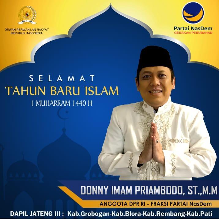 Donny Imam Priambodo Ajak Intropeksi Diri di Tahun Baru Islam #tahunbaruislam